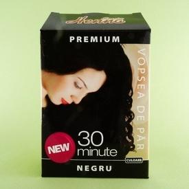 Vopsea de par Premium negru SONIA HENNA (60 g)