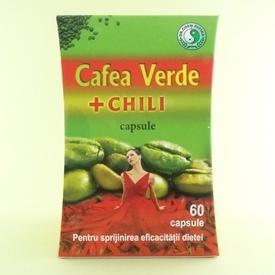 Cafea verde + Chili  Dr.CHEN PATIKA (60 de capsule)