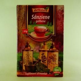 Ceai sanziene galbene ADNATURA (50 g)