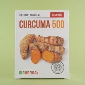 CURCUMA 500 PARAPHARM (30 de capsule)