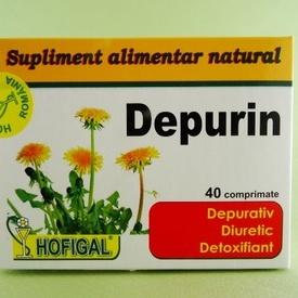 Depurin HOFIGAL (40 de comprimate)