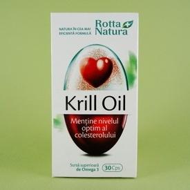 Krill Oil ROTTA NATURA (30 de capsule)