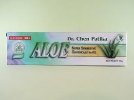 Pasta de dinti cu  Aloe vera + periuta de dinti    DR. CHEN PATIKA  (120 g)