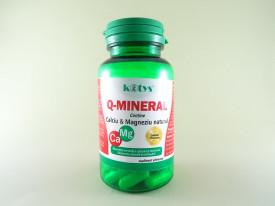 Q-MINERAL Calciu si Magneziu natural KOTYS (60 cps)