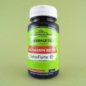 Silymarin 80/50 Detox Forte  HERBAGETICA (30 capsule)
