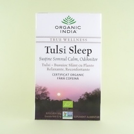 Tulsi Sleep ORGANIC INDIA (18 plicuri x 1,80 g)