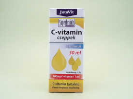Vitamina C picaturi 100 mg in 1 ml JutaVit JUVAPHARMA Kft. (30 ml)