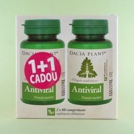 Antiviral Ginkgo biloba DACIA PLANT( 2 x 60 de comprimate)