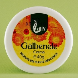 Crema de galbenele  LARIX (40 g)