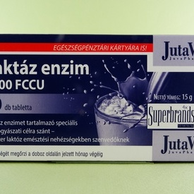 Enzima lactaza 5000 FCCU JUTAVIT (60 de tablete)