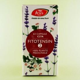 Fitotensin 2 FARES (63 de capsule)