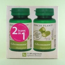 Glicemonorm DACIA PLANT ( 2 x 60 de comprimate)