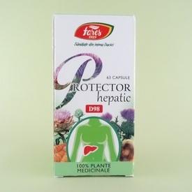 Protector hepatic FARES (63 de capsule)