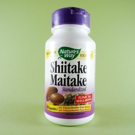 Shiitake Maitake NATURE'S  WAY PRODUCTS (60 de capsule)