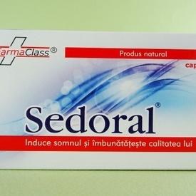 Sedoral FARMACLASS (50 de capsule)