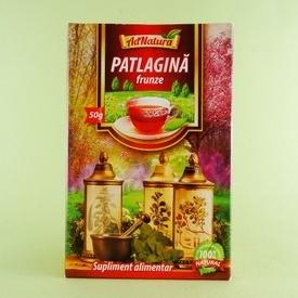 Ceai din frunze de patlagina  ADNATURA (50 g)