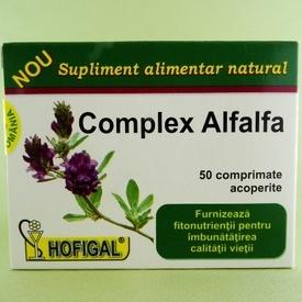 Complex Alfalfa HOFIGAL (50 de comprimate acoperite)