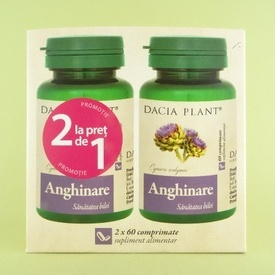 Anghinare DACIA PLANT ( 2 x 60 de comprimate)
