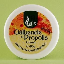 Crema de galbenele si propolis LARIX (40 g)