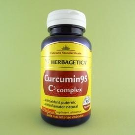 Curcumin 95 C3 complex HERBAGETICA (60 capsule)