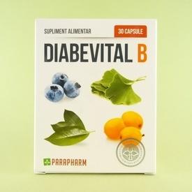 Diabevital B  PARAPHARM (30 de capsule)