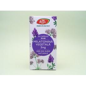 Melatonina vegetala 3 mg FARES (20 capsule)
