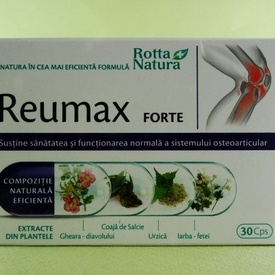 Reumax Forte ROTTA NATURA (30 de capsule)