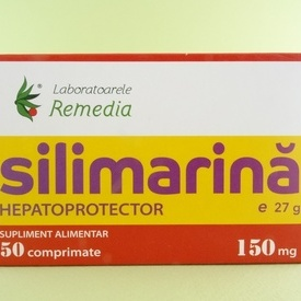 Silimarina 150 mg (50 comprimate)