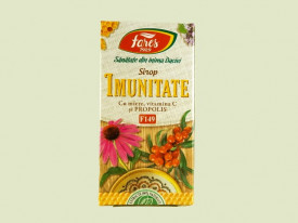 Sirop Imunitate cu miere de albine, propolis si vitamina C Fares (100 ml)