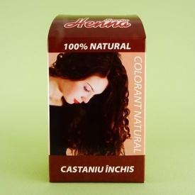 Vopsea de par castaniu inchis SONIA HENNA (60 g)