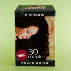 Vopsea de par Premium negru auriu SONIA HENNA (60 g)
