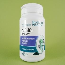 Alfalfa extract ROTTA NATURA (30 de capsule)