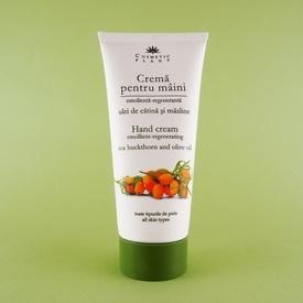 Crema pentru maini cu ulei de catina si masline COSMETIC PLANT (100 ml)