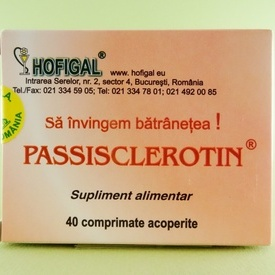 Passisclerotin HOFIGAL (40 de comprimate acoperite)