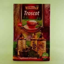 Ceai troscot ADNATURA (50 g)