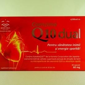 Coenzima Q10 dual GOOD DAYS THERAPY (30 de capsule)