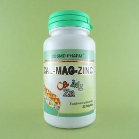 Cal-Mag-Zinc COSMO PHARM (30 de tablete)