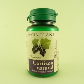 Cortizon natural DACIA PLANT (60 de comprimate)