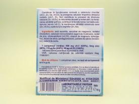 FAVIIMUN Vitamina C, zinc, seleniu si vitamina D3 comprimate pentru supt   FAVISAN -2