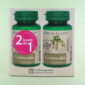 Gastrocalm DACIA PLANT (2 x 60 de comprimate)