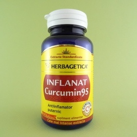 Inflanat Curcumin95  HERBAGETICA (60 capsule)