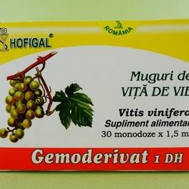 Muguri de vita de vie - gemoderivat HOFIGAL (30 de monodoze x 1,5 ml)