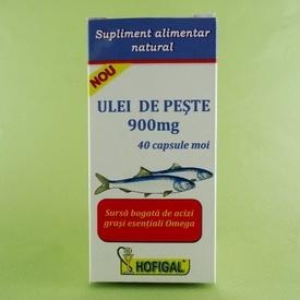 Ulei de peste 900 mg HOFIGAL (40 de capsule moi)