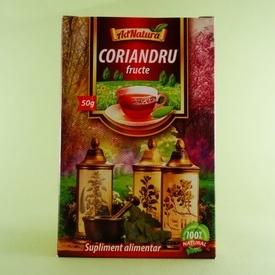 Ceai fructe de coriandru  ADNATURA (50 g)