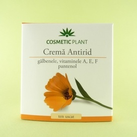 Crema antirid pentru ten uscat COSMETIC PLANT (50 ml)