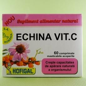 Echina Vit. C HOFIGAL (60 de comprimate masticabile)