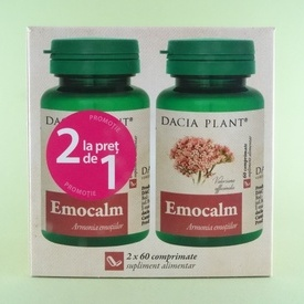 Emocalm DACIA PLANT (2 x 60 comprimate)
