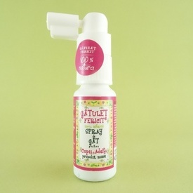 Gatulet Fericit spray de gat PRISACA TRANSILVANIA ( 20 ml)