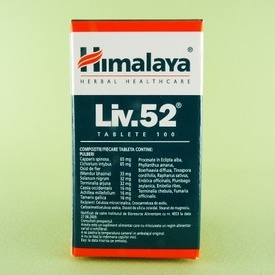 Liv.52 HIMALAYA (100 de tablete)