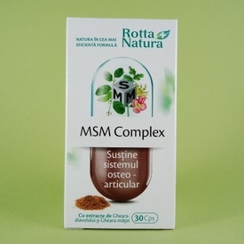 MSM Complex ROTTA NATURA (30 de capsule)